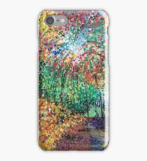 Firework forest iPhone Case/Skin