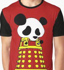 Panda  Robot Graphic T-Shirt