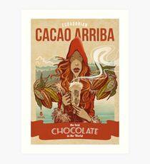 Cacao Arriba Art Print