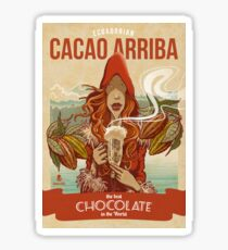 Cacao Arriba Sticker