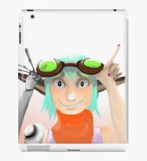 Green Goggles  iPad Case/Skin