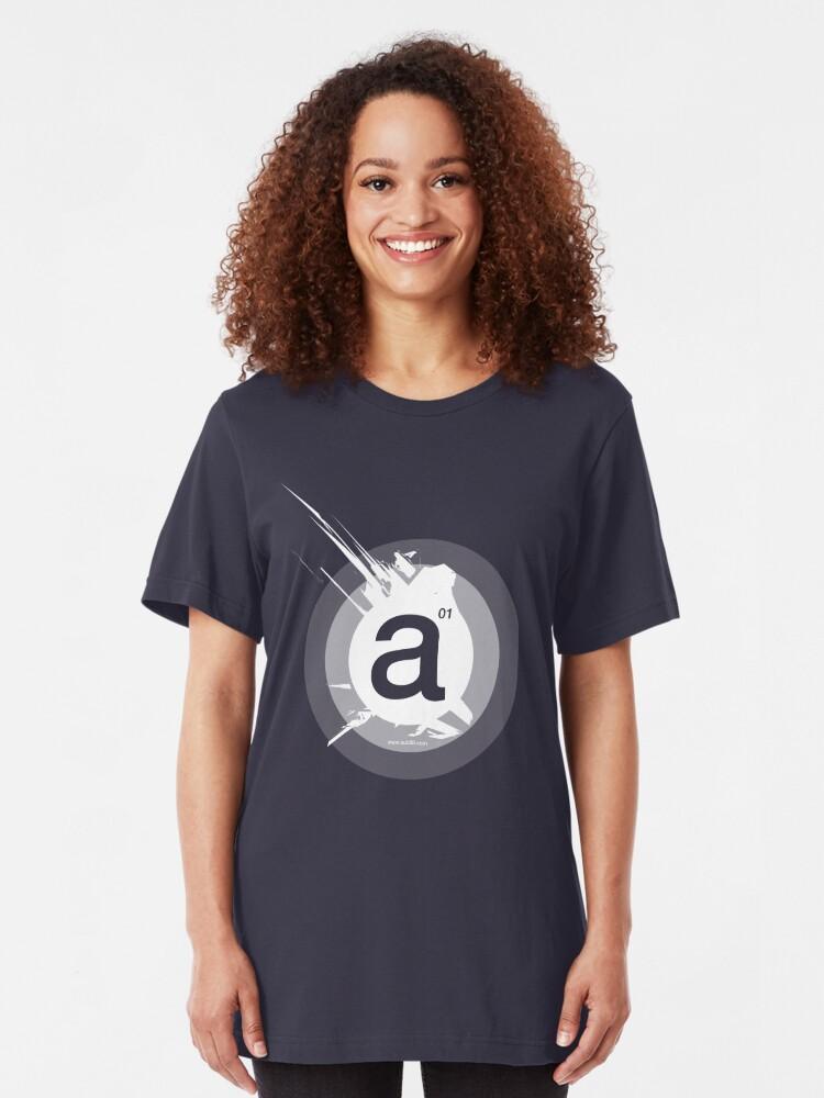 Alternate view of a - unicorn Slim Fit T-Shirt