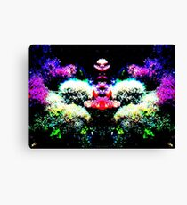 Neon Water Canvas Print