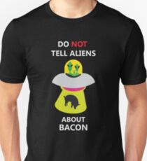 alien kidnap bacon Unisex T-Shirt