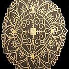 Golden Flower by yazdala