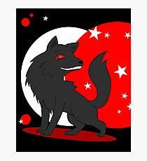 Big and Not so Bad Wolf Photographic Print