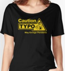 Typo Women's Relaxed Fit T-Shirt