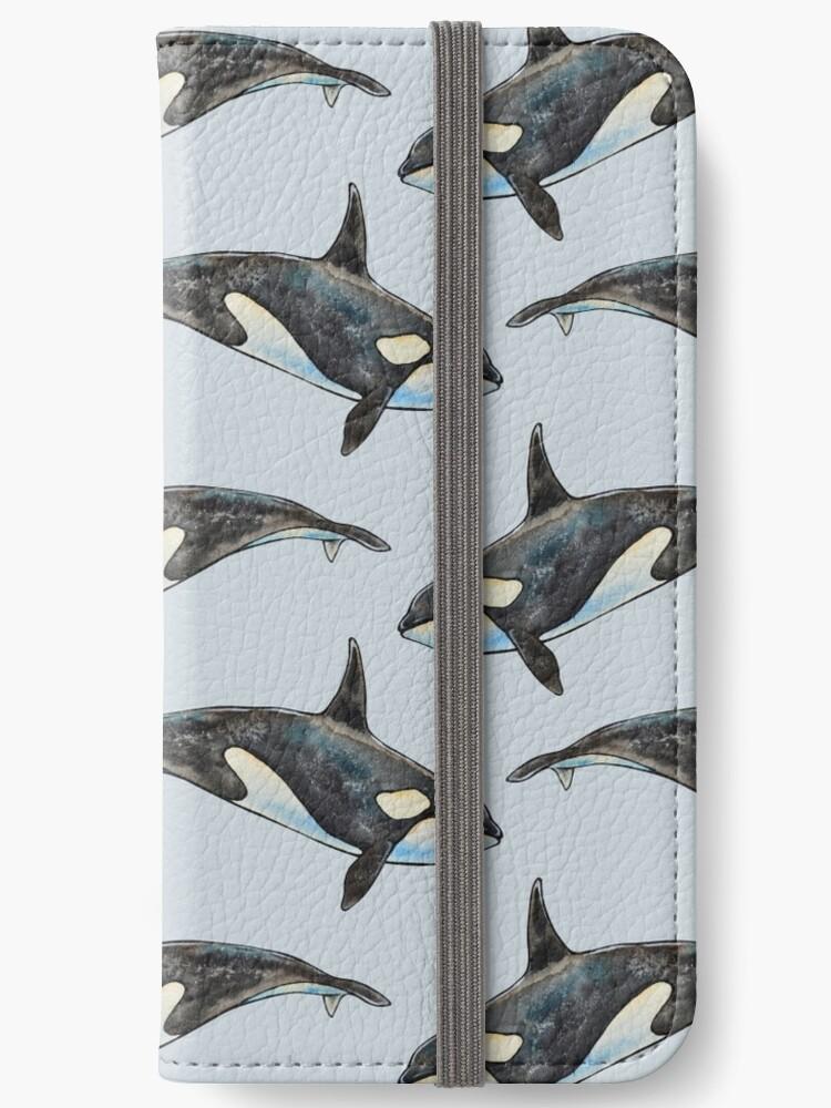 Orca auf Blau von Artkettu