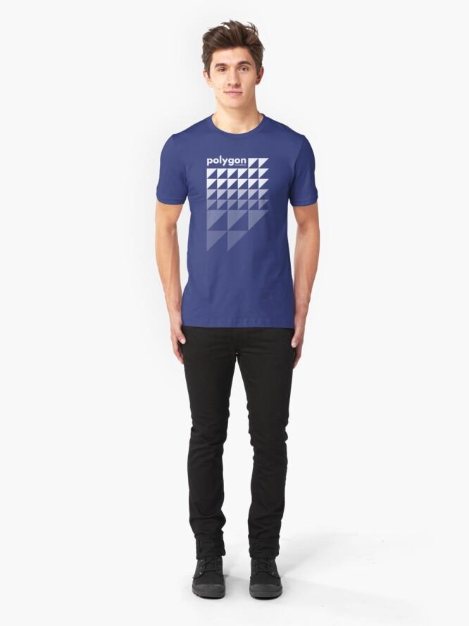 Alternate view of Polygon (w) Slim Fit T-Shirt