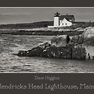 Hendricks Head Lighthouse, Maine by Dave  Higgins