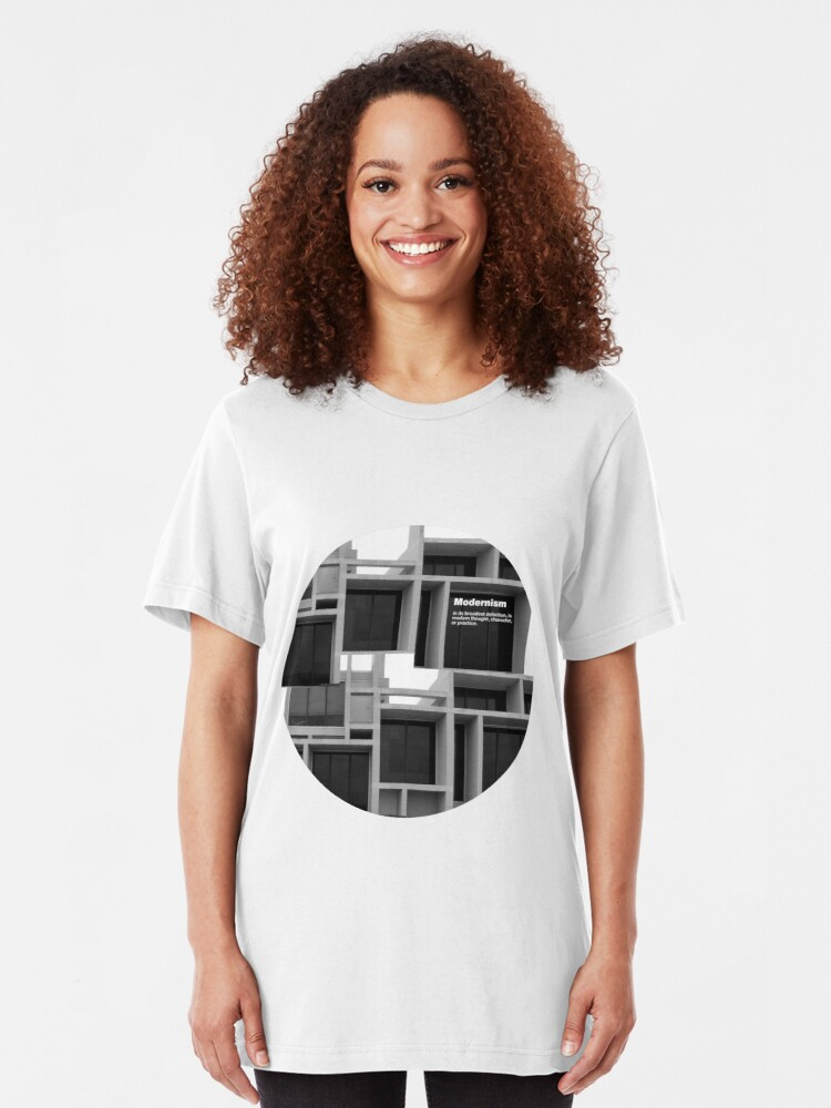 Alternate view of Modernism Slim Fit T-Shirt
