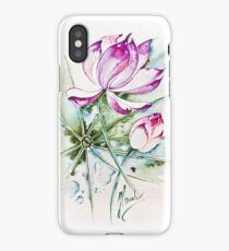 """""""Between Us"""" from the series """"In the Lotus Land"""" iPhone Case/Skin"""