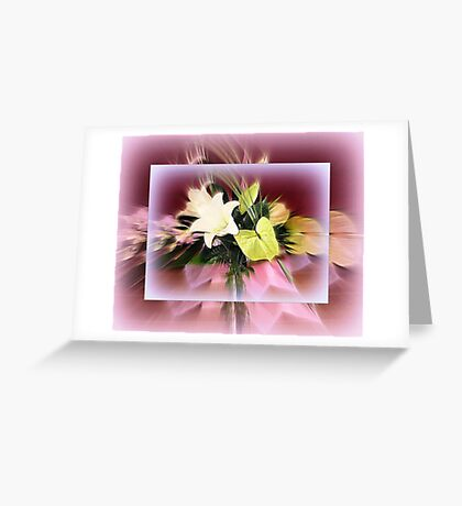 Bouquet of Lilies Greeting Card