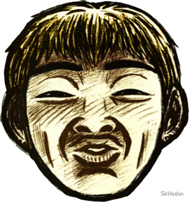 Great teacher onizuka face by sirhodon