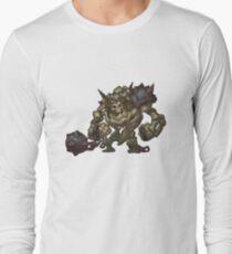 Skeleton Grunt Long Sleeve T-Shirt