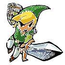 «Leyenda de Zelda: Enlace de Wind Waker (Vectorizado)» de muramas