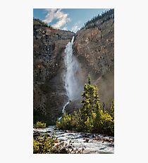 Takakkaw Falls British Columbia Photographic Print