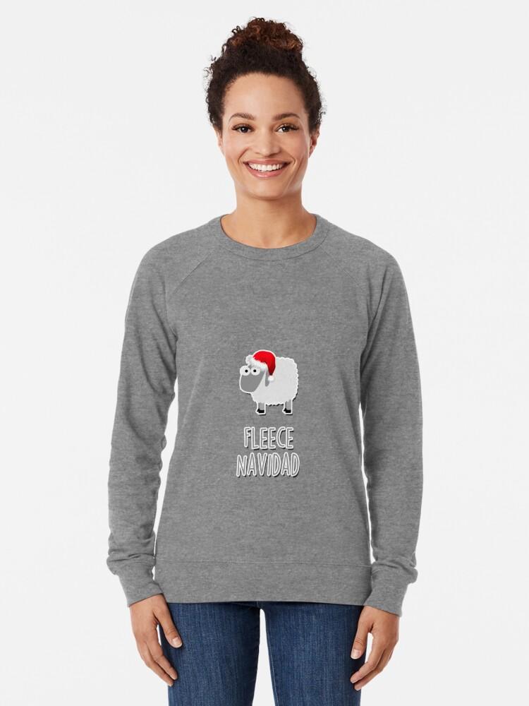 Alternative Ansicht von Vlies Navidad Leichter Pullover