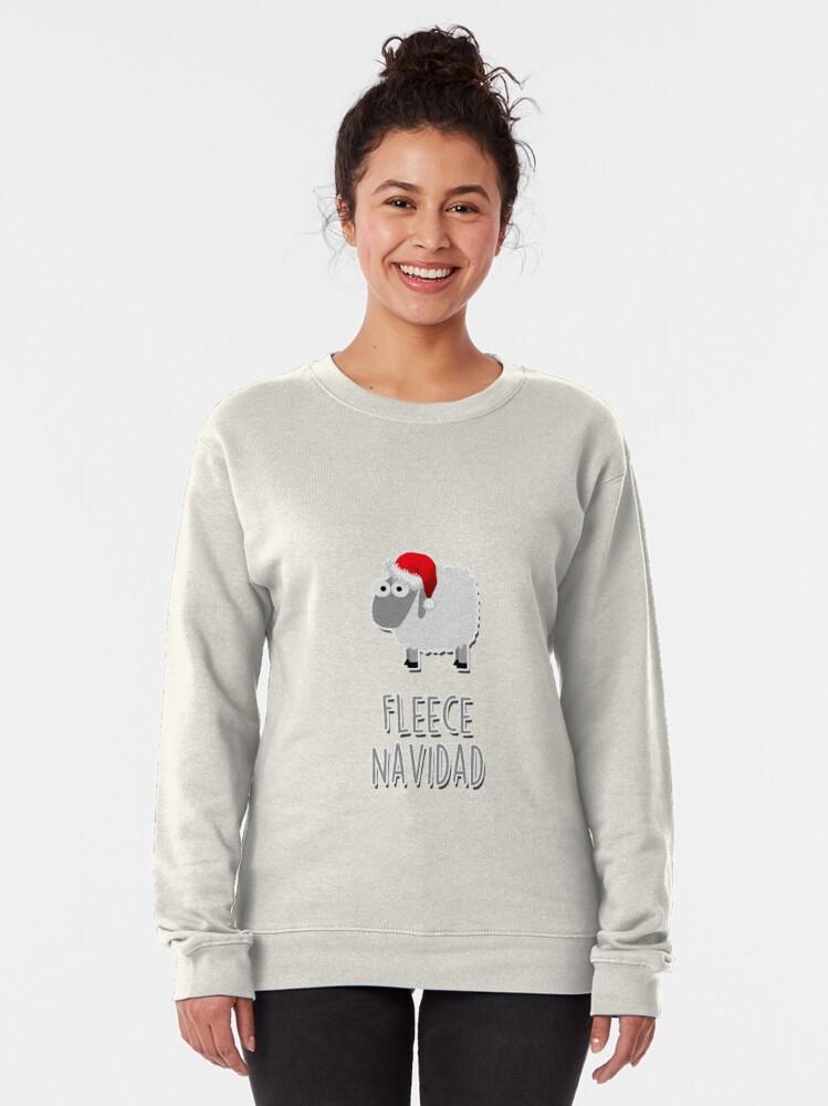 Alternate view of Fleece Navidad Pullover Sweatshirt