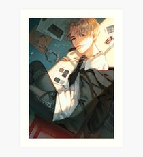 AGUSTD - Tongue Technology Art Print