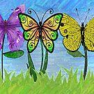 Butterfly Flowers by storecee
