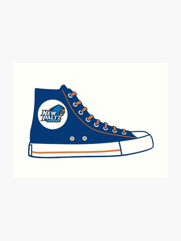 53fc81dcabd8e SUNY New Paltz Converse Sneaker | Art Print