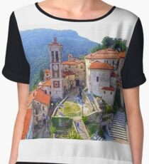 Sacred Mountain of Varese - Italy Women's Chiffon Top