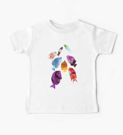 Fish shaped Flowers Kids Clothes