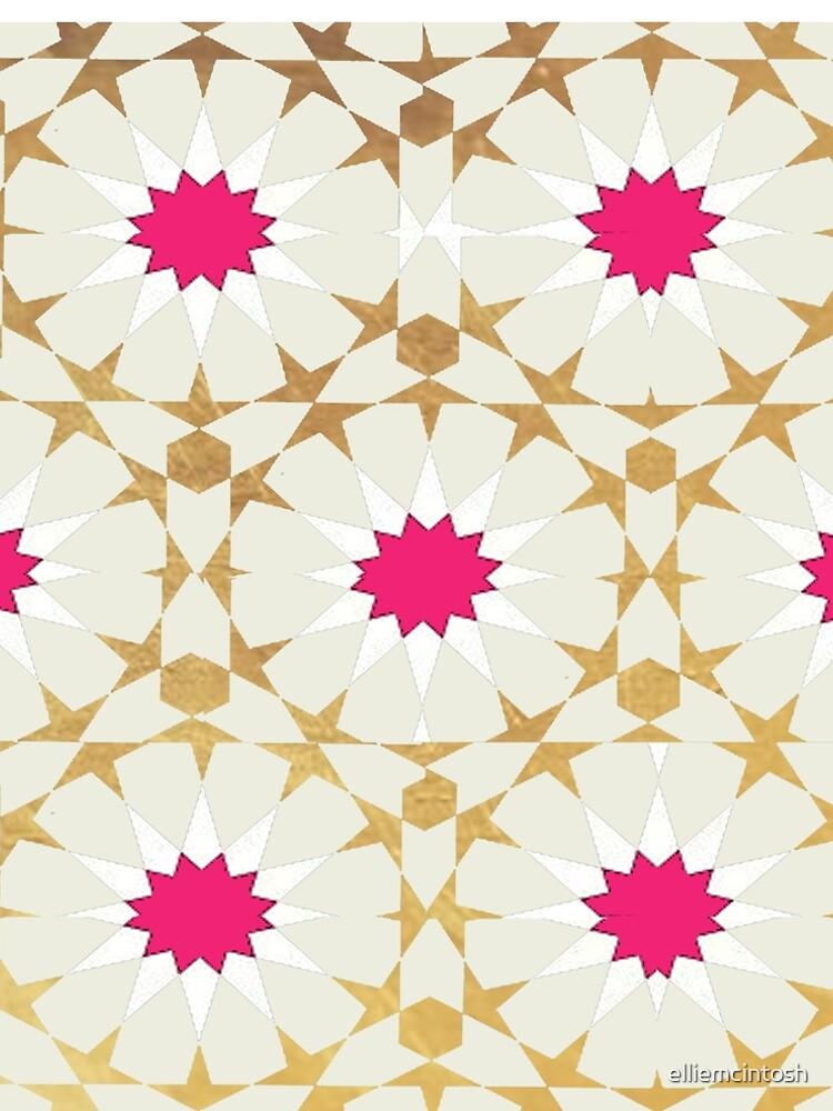 Off White Moroccan Patterns by elliemcintosh