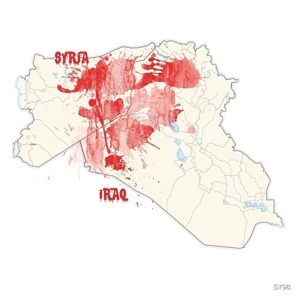 Syria-Iraq bleeding  by SY98