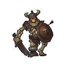 Skeleton Warrior by BitGem