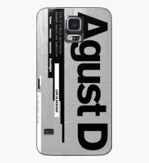 AGUST D ALBUM COVER Case/Skin for Samsung Galaxy