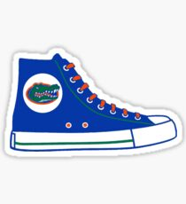 University of Florida UF Converse Sneaker Sticker