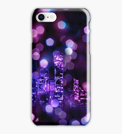 City lights iPhone Case iPhone Case/Skin