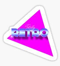 Totally Retro Graphics 80's Sticker