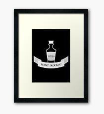 Want Skooma? Framed Print