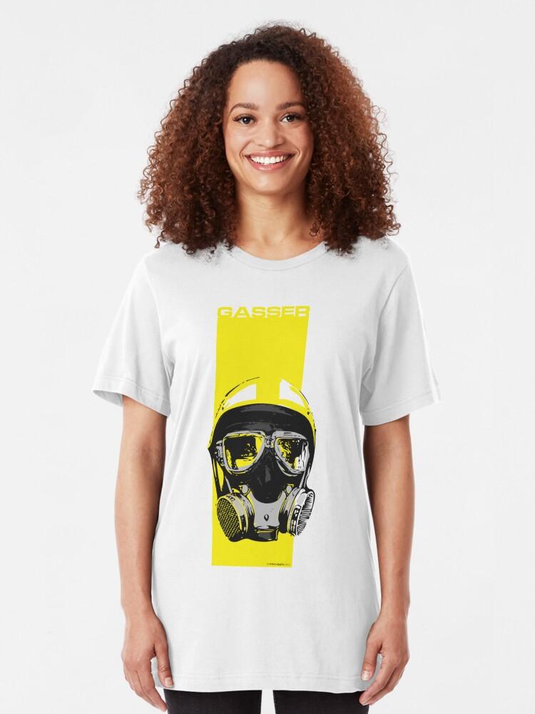 Alternate view of Gasser-Yellow Slim Fit T-Shirt