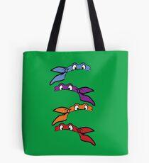 Teenage Mutant Ninja Turtles Classic Masks Tote Bag