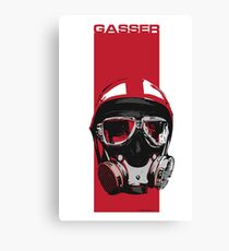 Gasser-Red Canvas Print