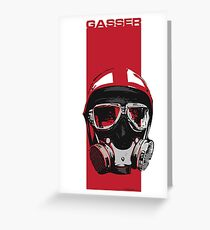 Gasser-Red Greeting Card