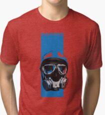 Gasser-Blue Tri-blend T-Shirt