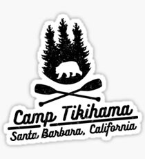 Camp Tikihama  Sticker