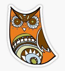Deco Owl - 70's kitchen Sticker