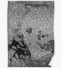Radiohead - A Moon Shaped Pool Album Lyric Design #3 Poster