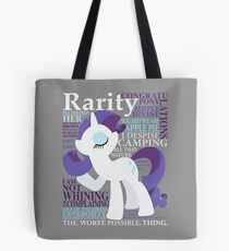 The Many Words of Rarity Tote Bag
