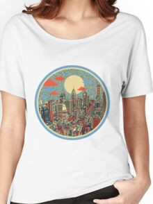 philadelphia panorama 3 Women's Relaxed Fit T-Shirt