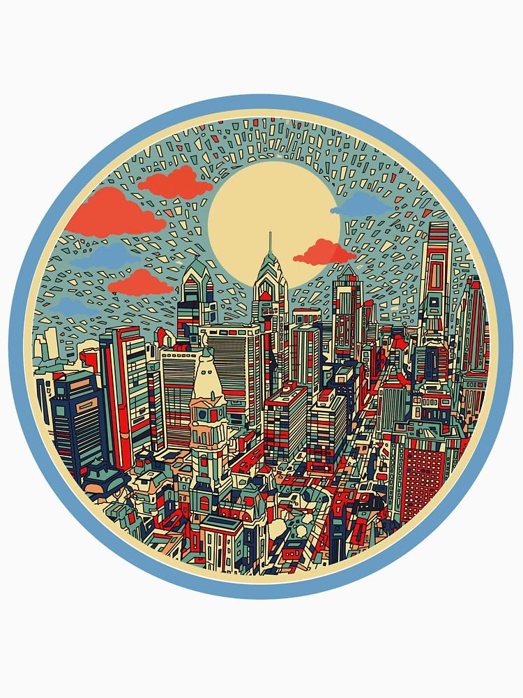 Philadelphia-Panorama 3 von BekimART