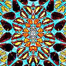 Butterfly mosaic by endomental Artistry