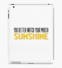 The Walking Dead Quotes TV Series Sunshine iPad Case/Skin