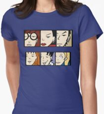 hey daria Womens Fitted T-Shirt